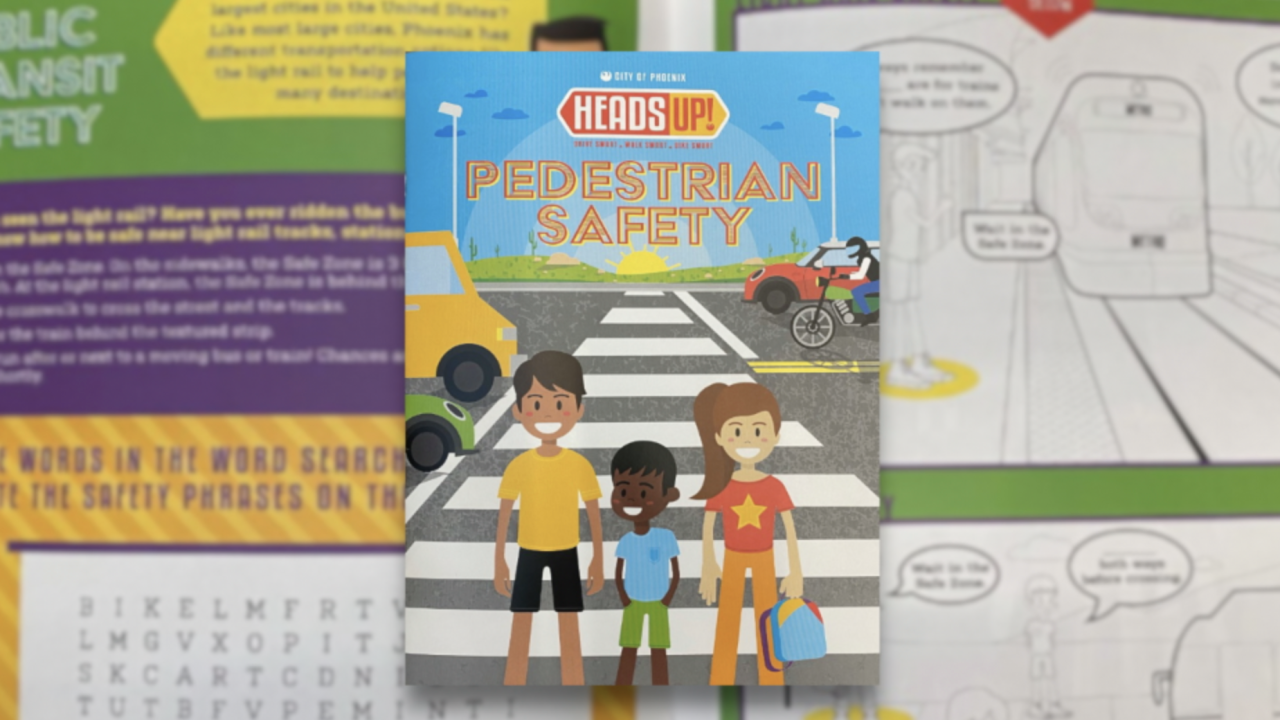 Pedestrian safety book