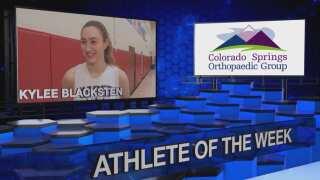 KOAA Athlete of the Week: Kylee Blacksten, Air Academy basketball