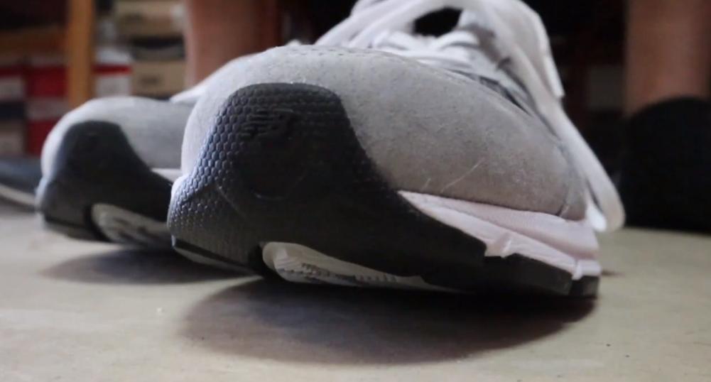 Mark Nunez's new running shoes