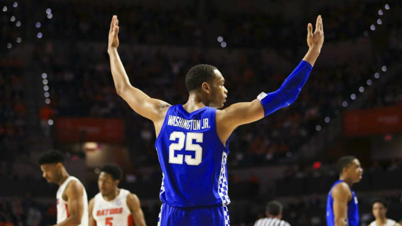 Cal: PJ Washington Sprained Foot In Tennessee Game