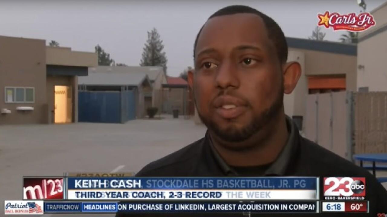 Former high school basketball coach arrested