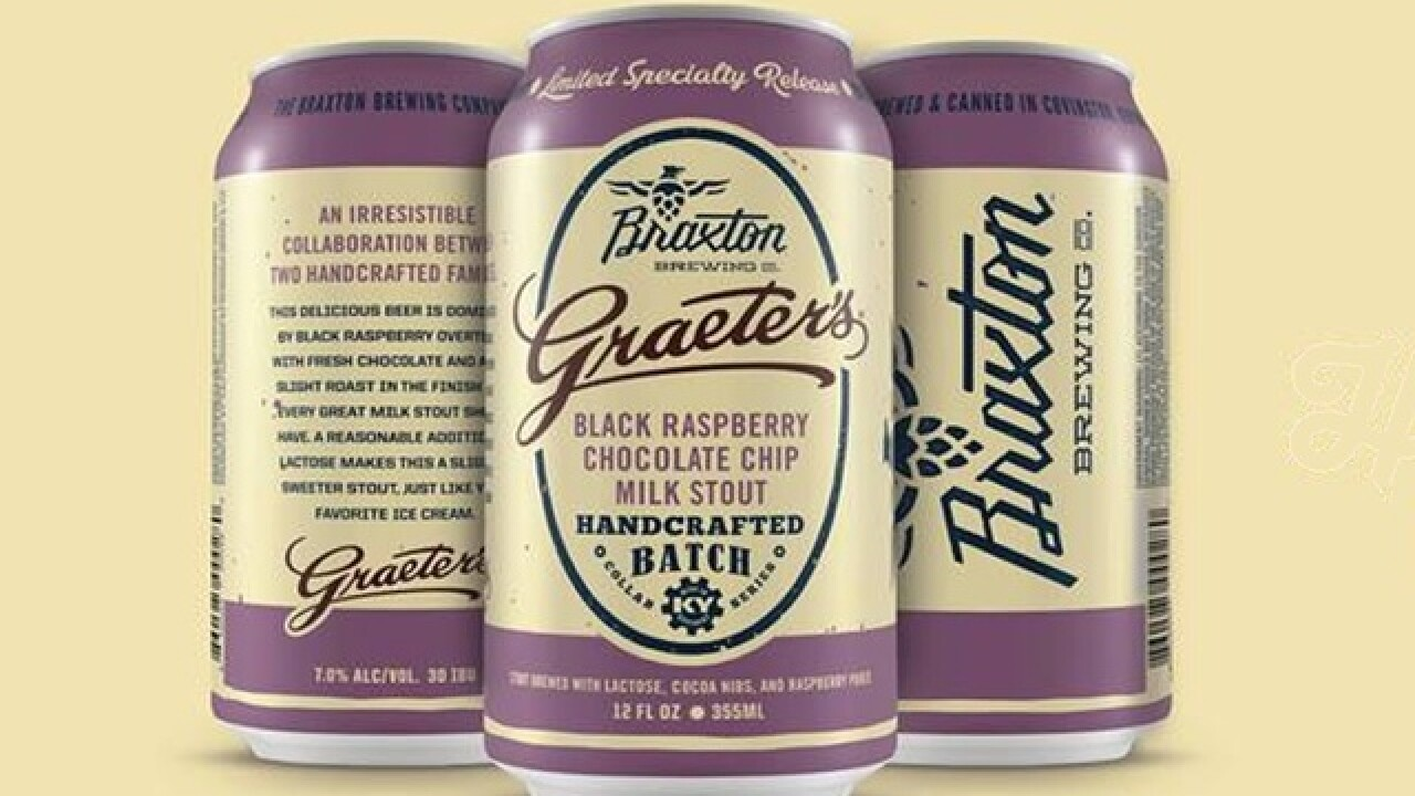 Black Raspberry Chocolate Chip beer is coming