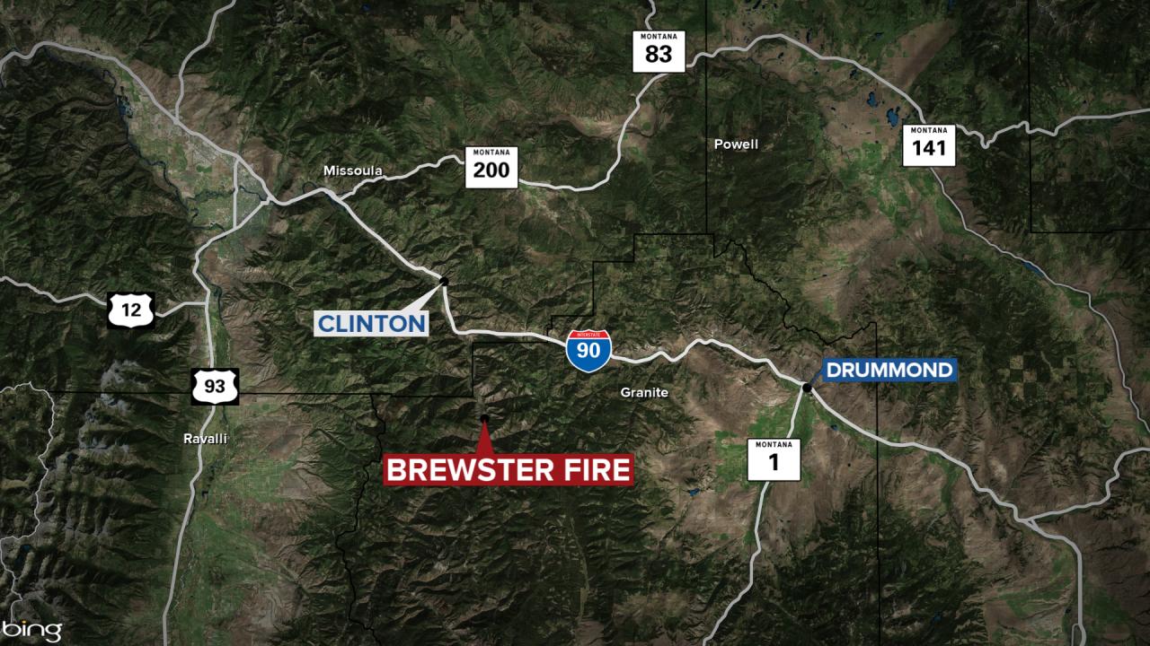 Brewster Fire Map