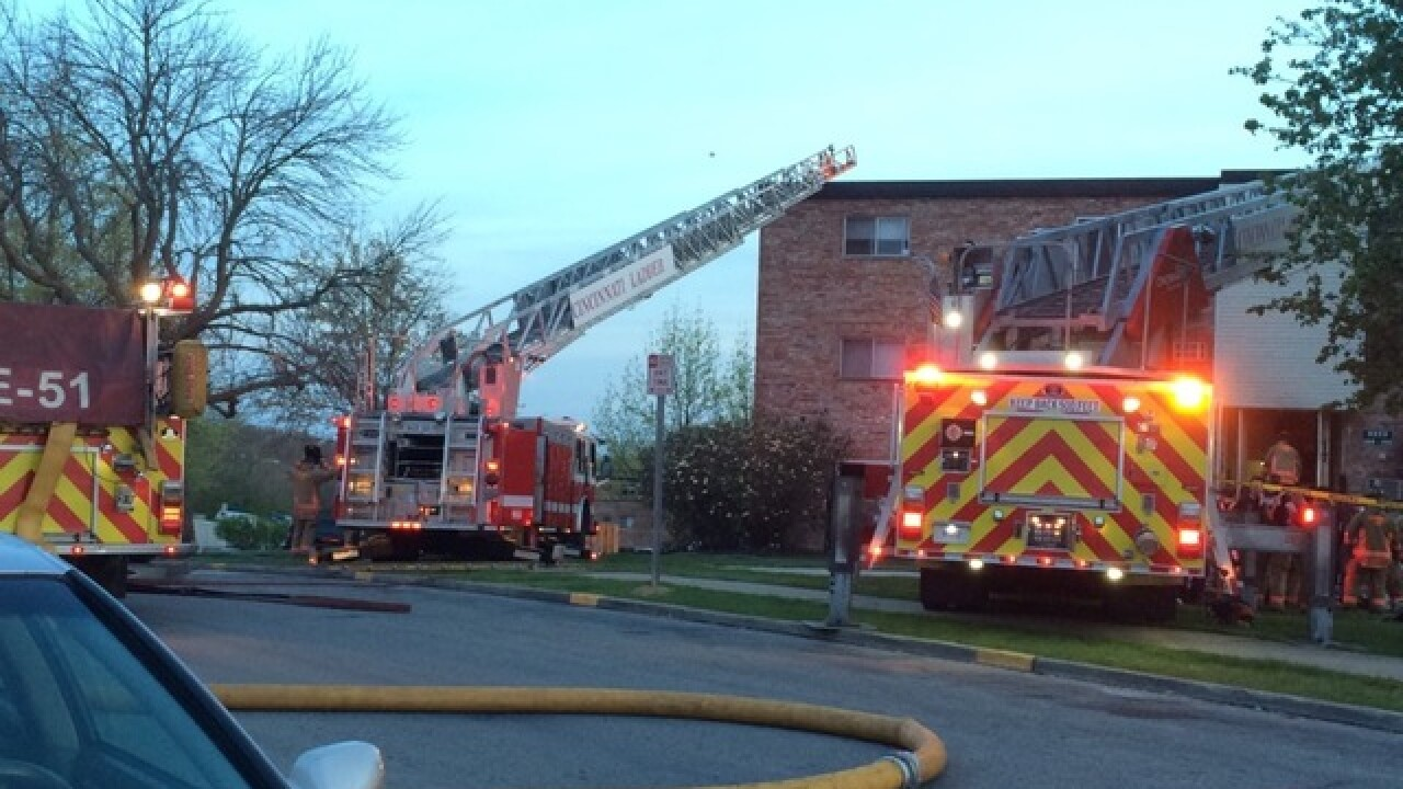 6 people rescued from Mount Airy fire