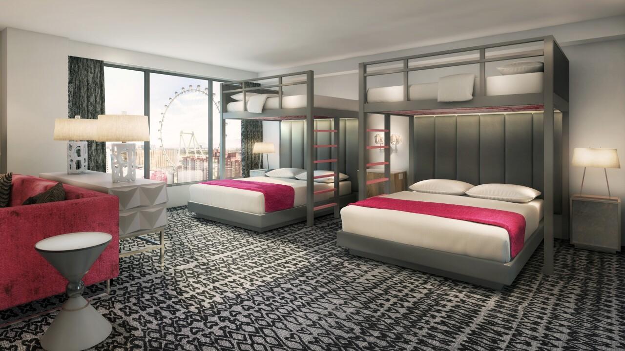 Flamingo Las Vegas_Bunk Bed Room Rendering.jpg