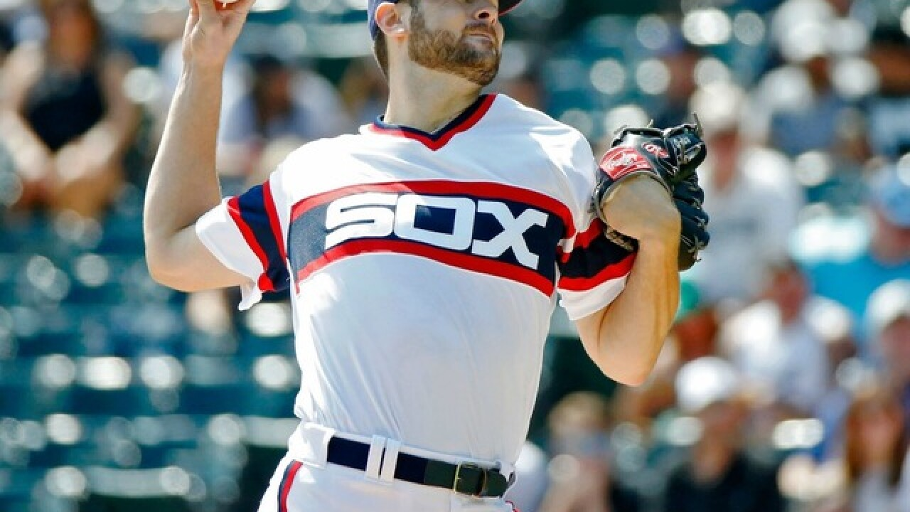 Lucas Giolito pitches Chicago White Sox past Tampa Bay Rays 6-2