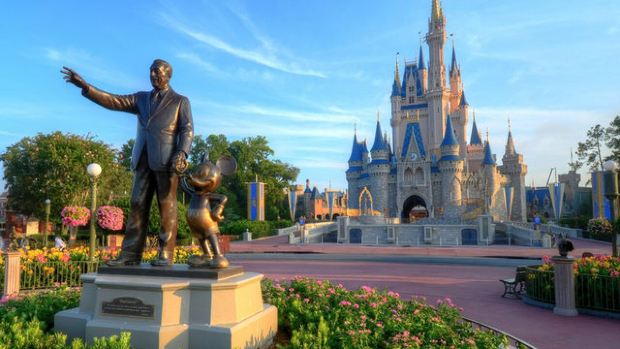 Increased prices at Disney parks in Florida, California