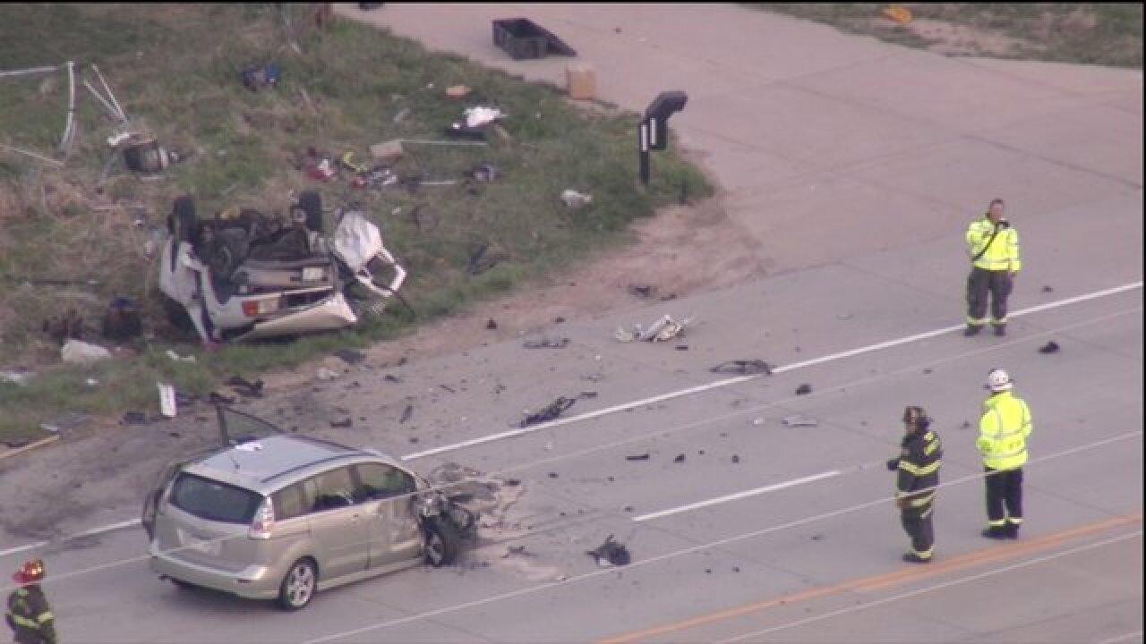 2 dead in car crash on Highway 287 in Boulder County