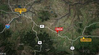 2 dead, 2 injured in crash near Stanford