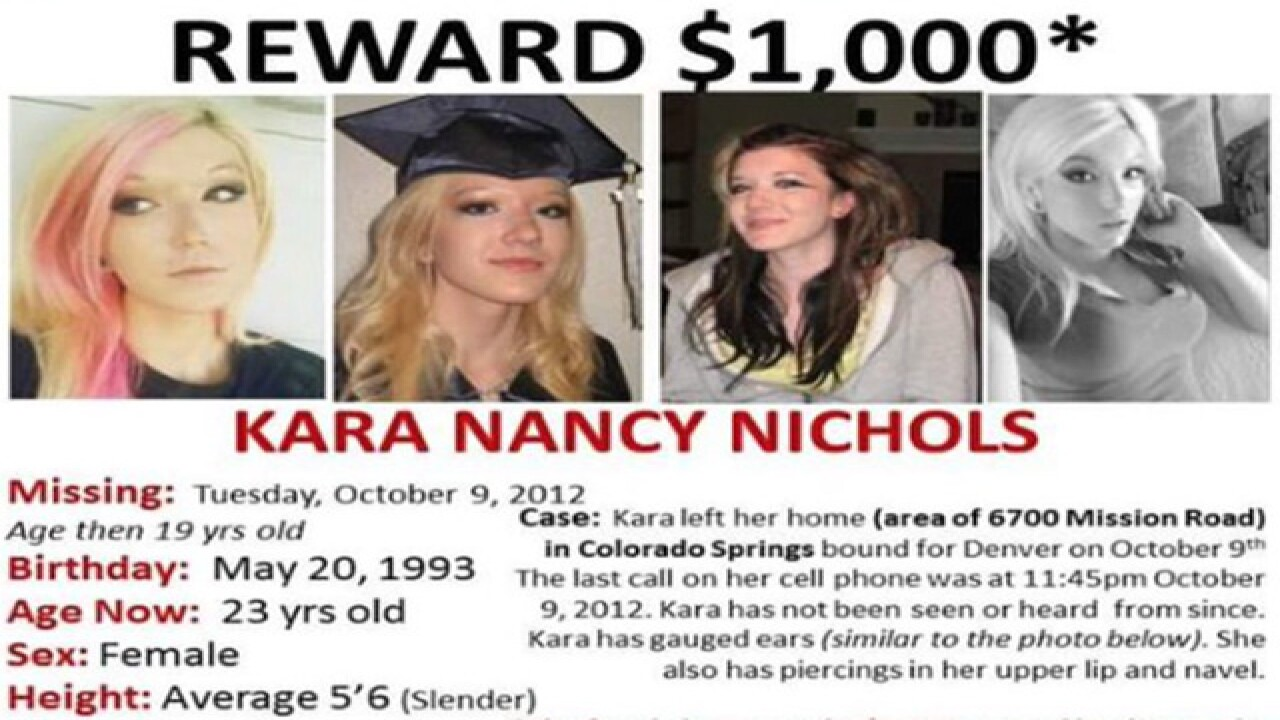 Missing woman's case in jeopardy in El Paso Cty.