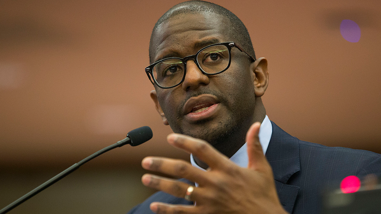Andrew Gillum: Former FL gubernatorial candidate involved in incident where suspected meth found