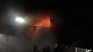 three injured after apt fire at Esprit Cherry Creek Apartments_Denver Fire Department