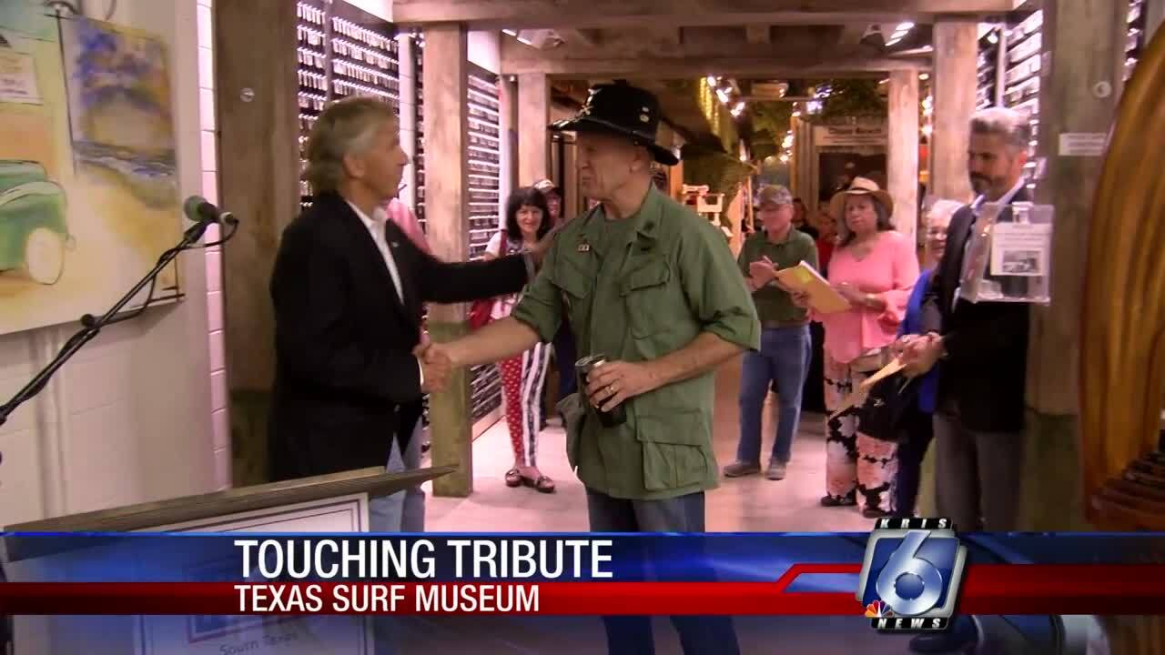 "Texas Surf Museum ""Waves of Honor"" memorial"