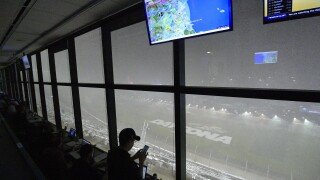 Rains postpones Daytona 500 for first time since 2012
