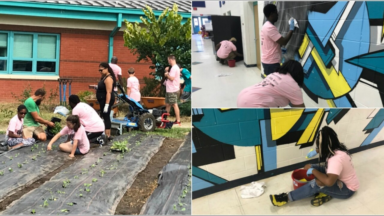 What hundreds of volunteers did at 3 Richmond schools will make your day