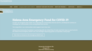 COVID-19 Emergency Relief Fund awards first round of grants