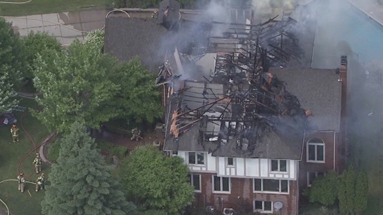 Rochester Hills home destroyed by fire