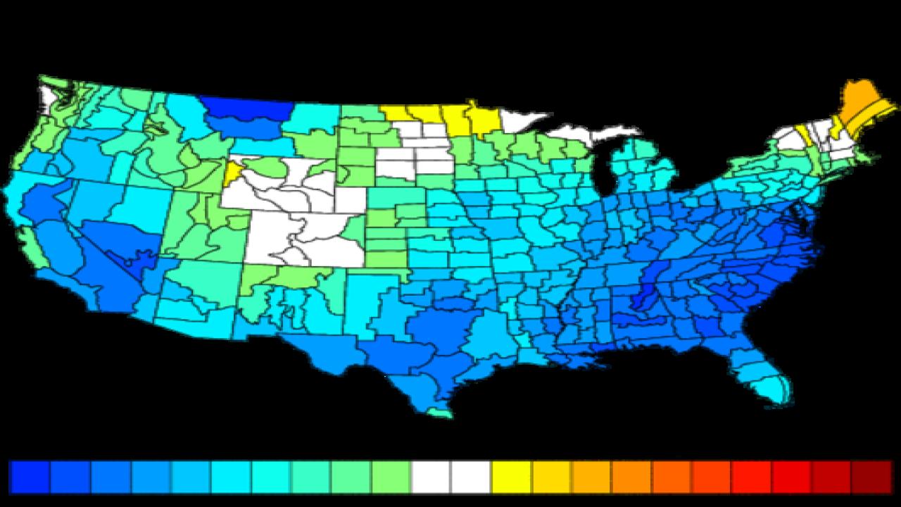 Current patterns suggest a cooler October