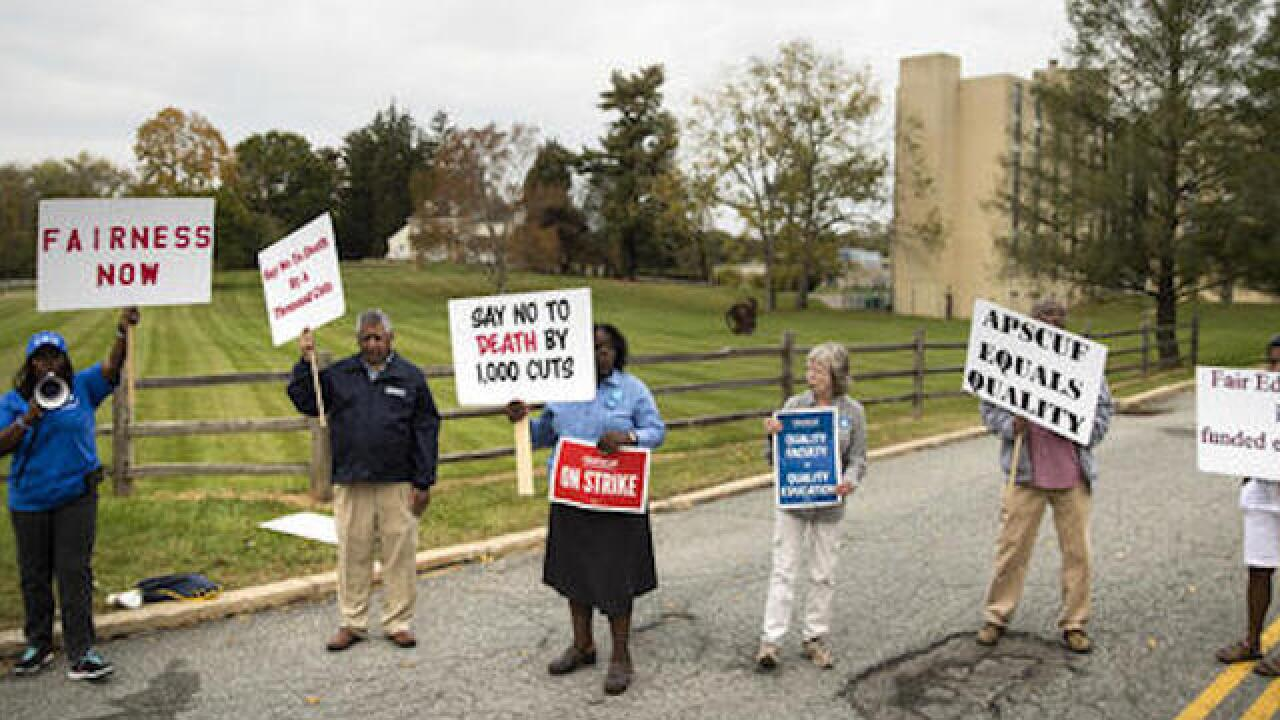 Pennsylvania professor's union agrees to end strike