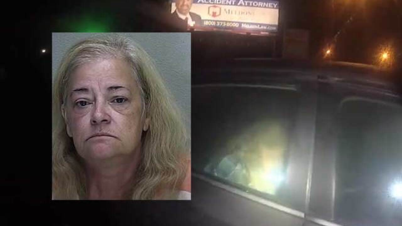 Florida woman breaks into car to sleep, sets it on fire, can't unlock it to escape