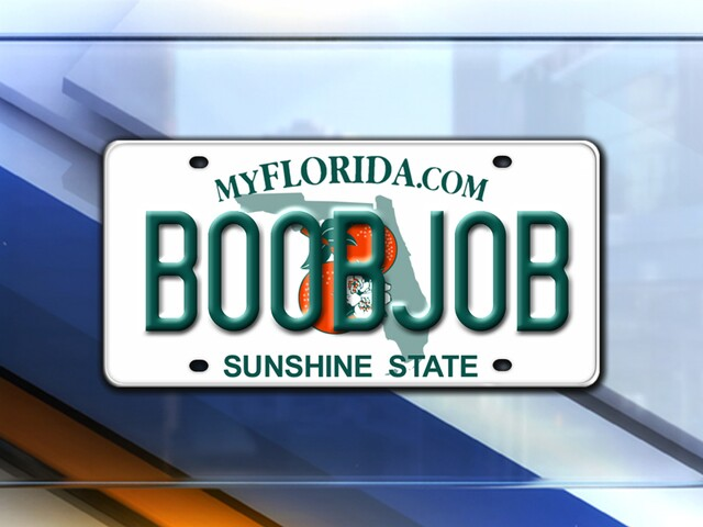 Florida Personalized License Plates >> Photos Vanity License Plates Denied In Florida