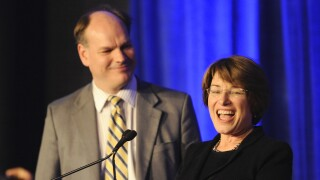 Sen. Amy Klobuchar says he husband has tested positive for COVID-19
