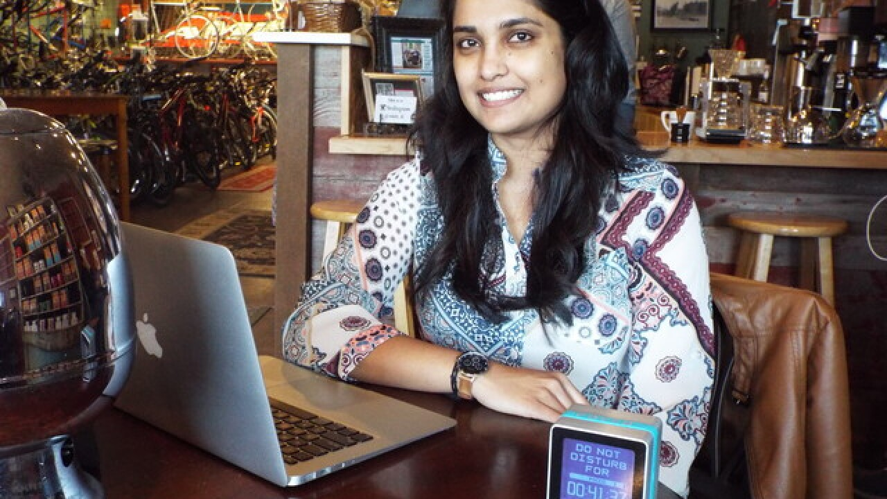 Undisturbed: Pocco startup works to limit workplace distractions