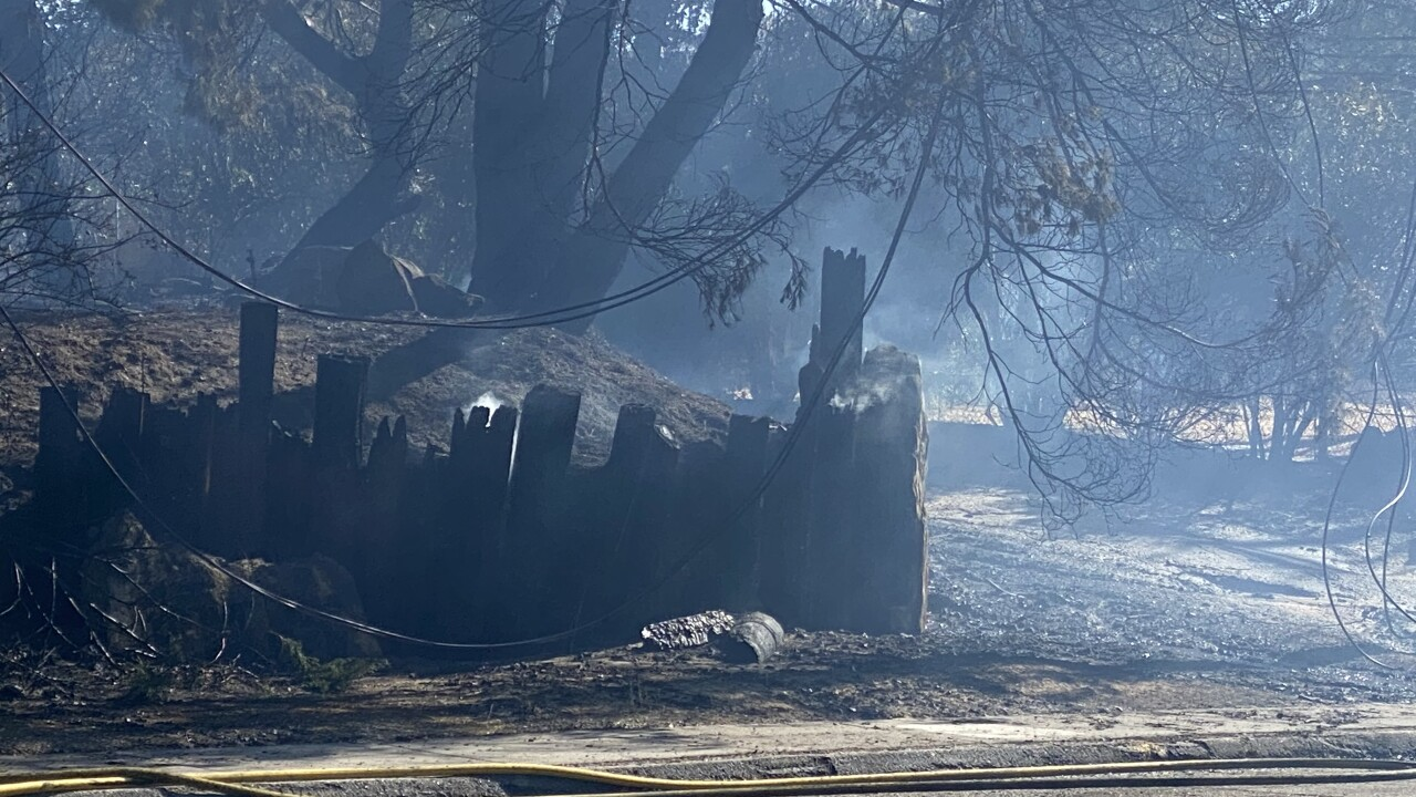 Neighborhoods evacuated due to fire in Paso Robles