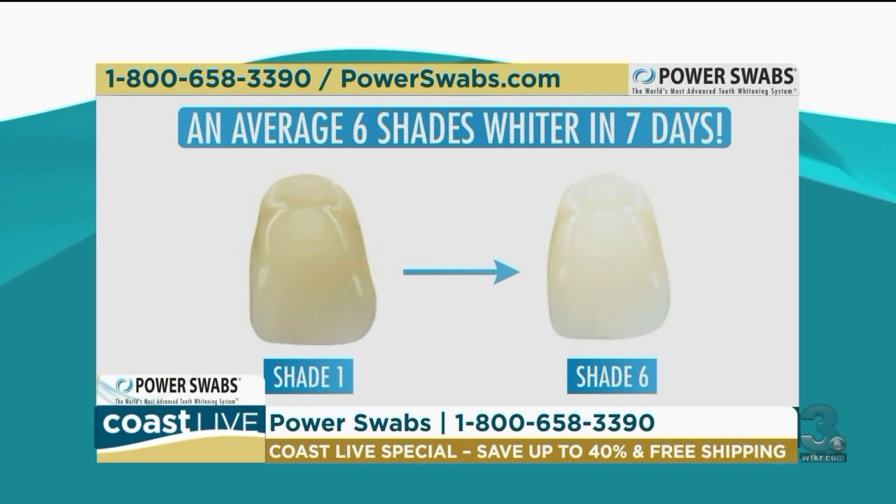 A quick and easy way to whiter teeth on CoastLive