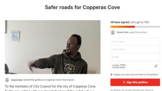 Petition started after Copperas Cove hit-and-run leaves 32-year-old man dead