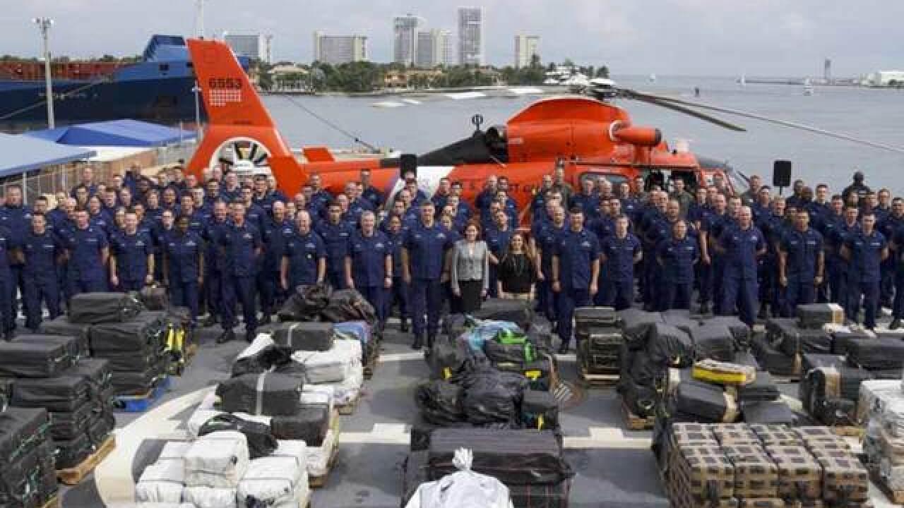 Coast Guard seizes 18.5 tons of cocaine worth $500 million