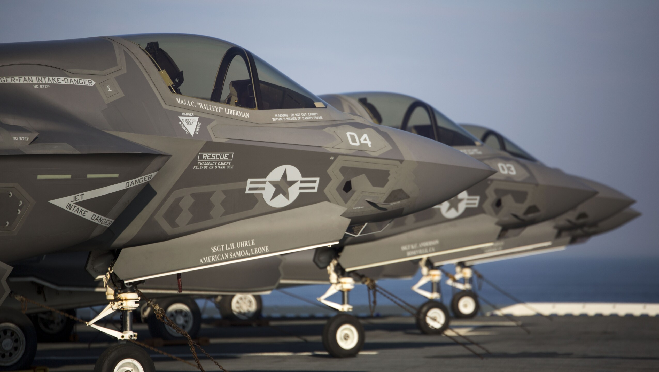 Photos: F-35B testing continues aboard the USSWasp