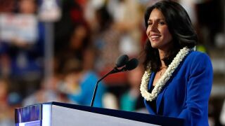 Tulsi Gabbard sues Hillary Clinton for defamation over claims that Russia is 'grooming' Gabbard