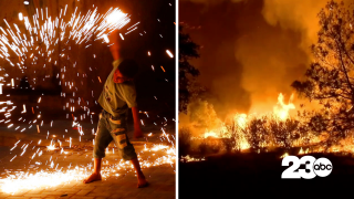 Fireworks and Wildfires