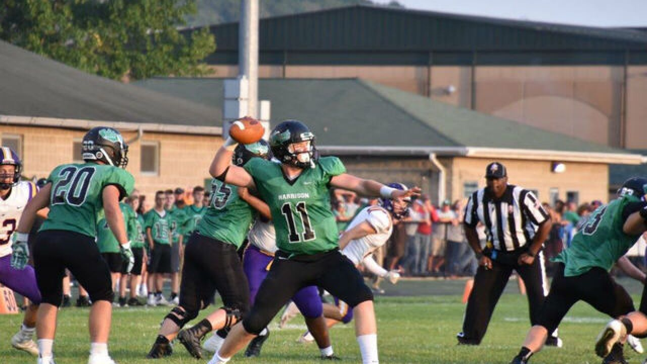 Connor Kinnett is an obvious leader for the Harrison football program
