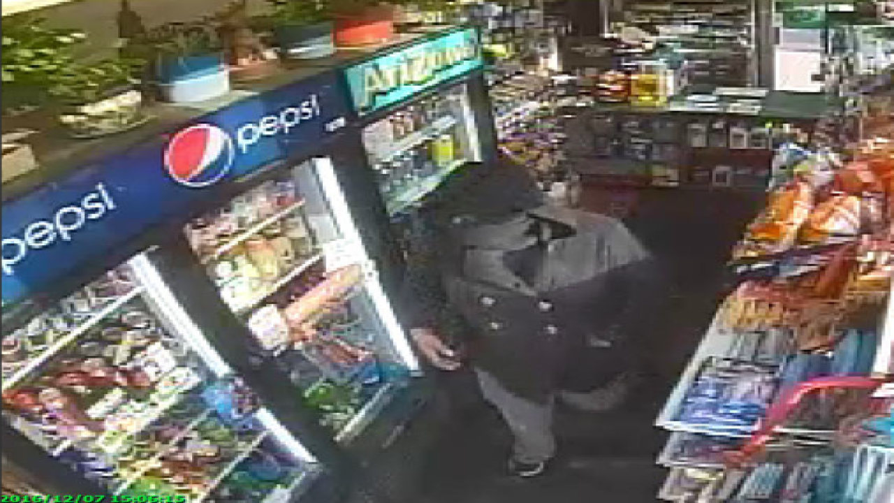 Wheatfield robbery suspect caught on camera