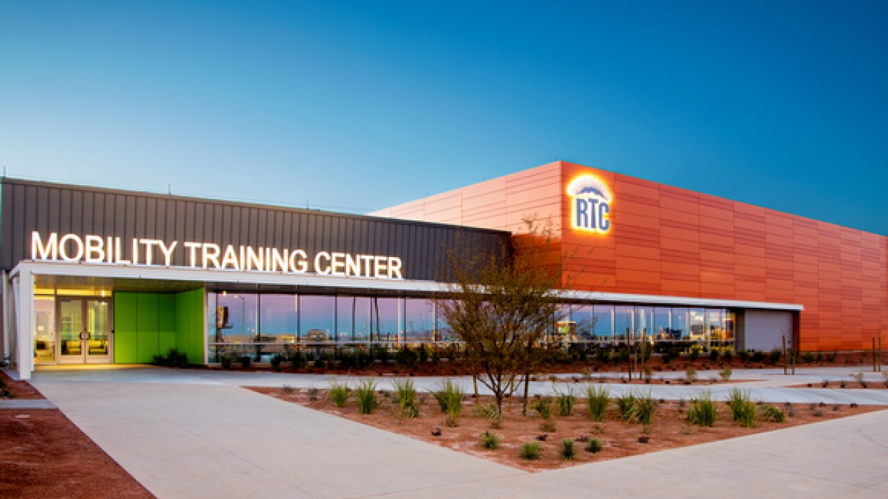 RTC's Mobility Training Center receives honor