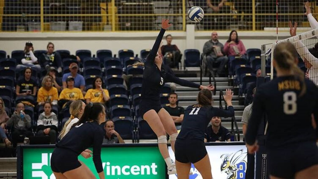 MSUB Volleyball