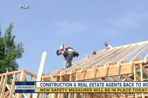Construction and real estate agents back to work in Michigan