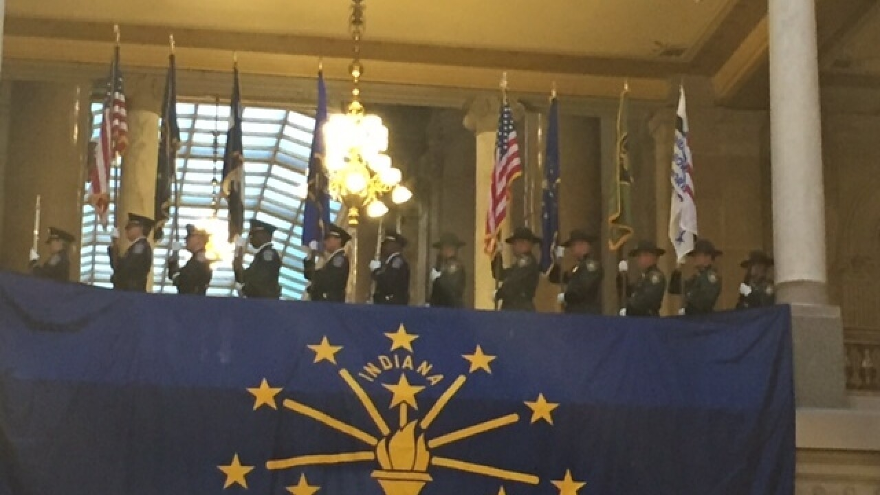 PHOTOS: Indiana FOP Memorial Service