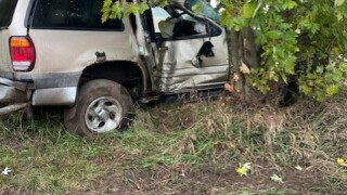 SUV crashes in Cass Co. on 10/21/21