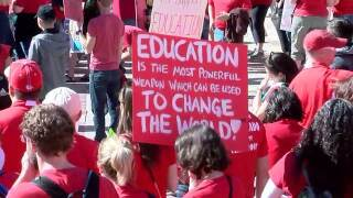 GALLERY: Thousands rally at Colorado Capitol on second day of teacher walkouts