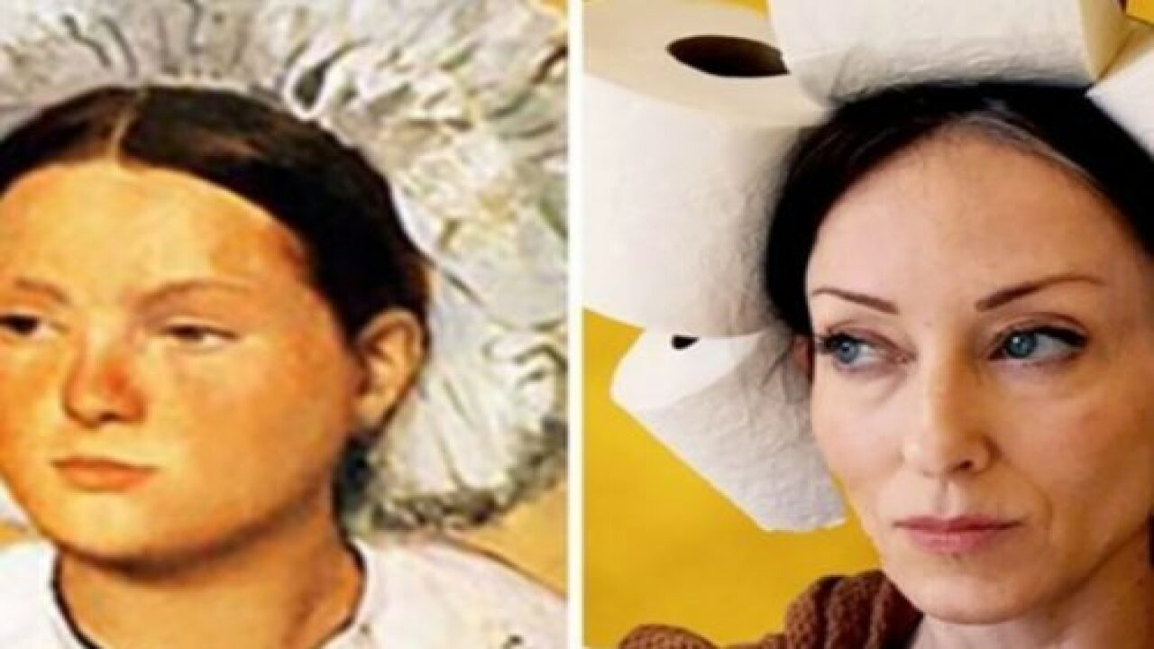 People Are Recreating Famous Artwork With Household Items And The Results Are So Much Fun