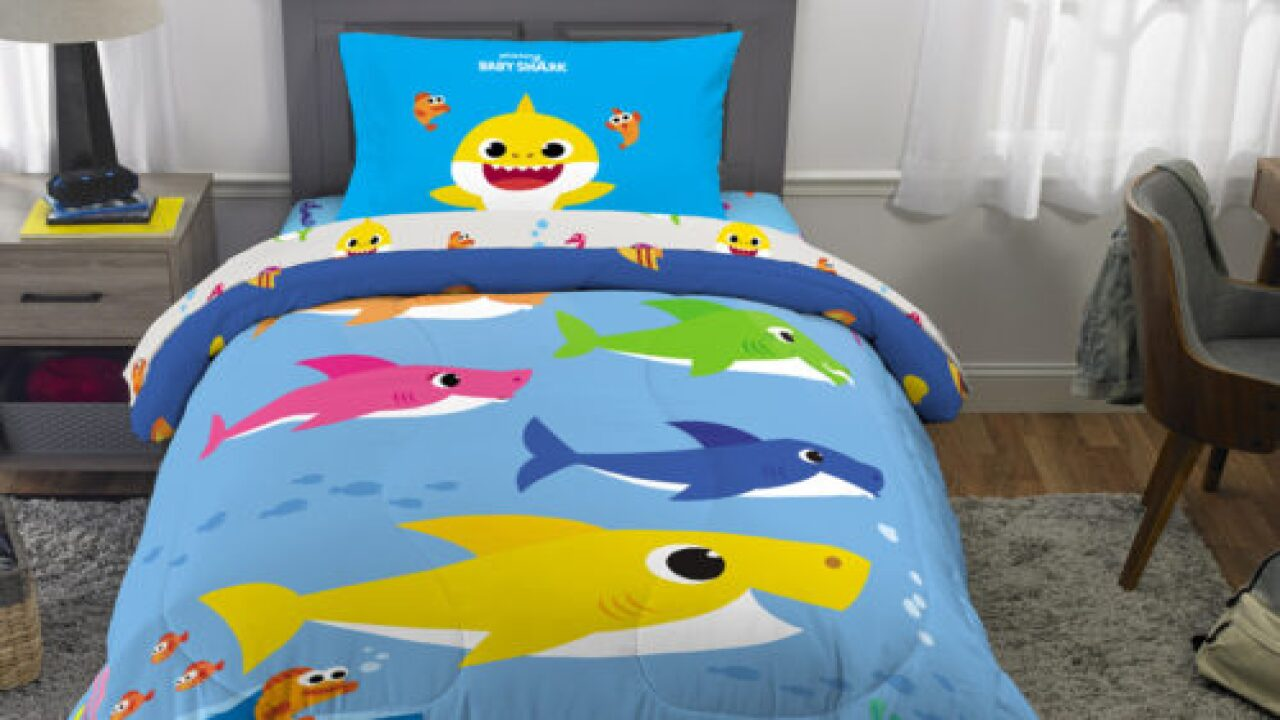 You Can Now Buy 'Baby Shark' Bedding At Walmart