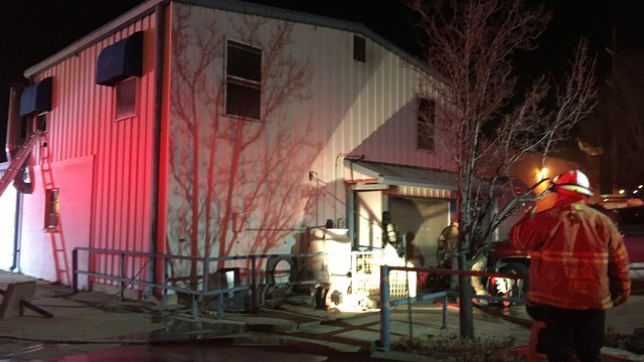 Crews respond to fire at Harvard Cleaners