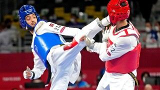 Dell'Aquila, Wongpattanakit win gold in taekwondo