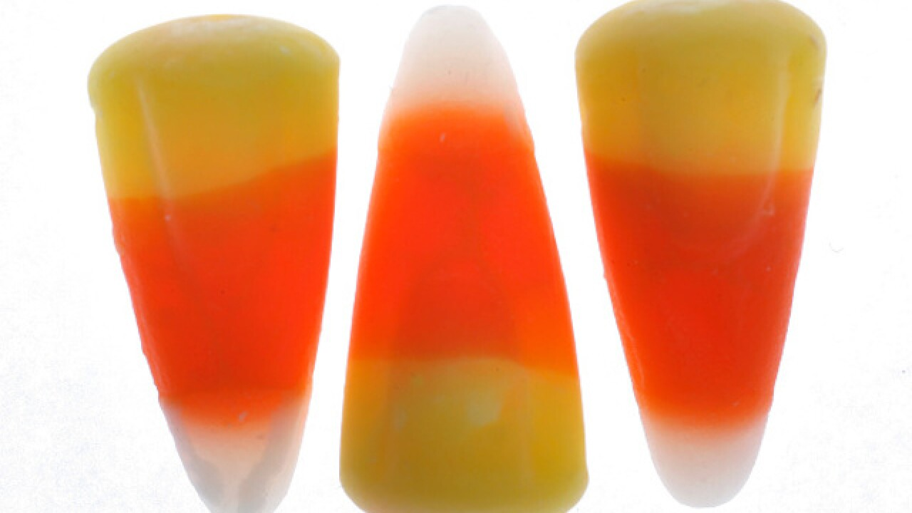 Candy corn named Michigan's most popular Halloween candy for the third year in a row