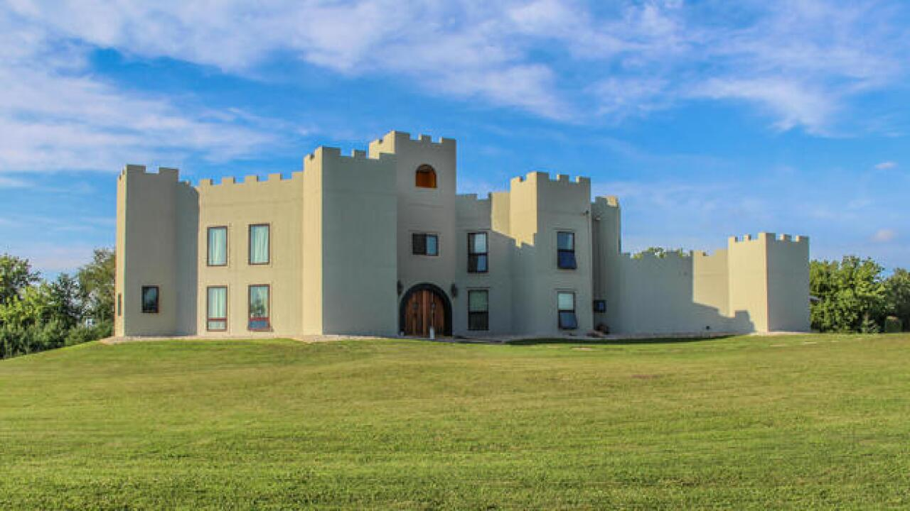 This 'medieval' castle in Beaver Dam could be yours
