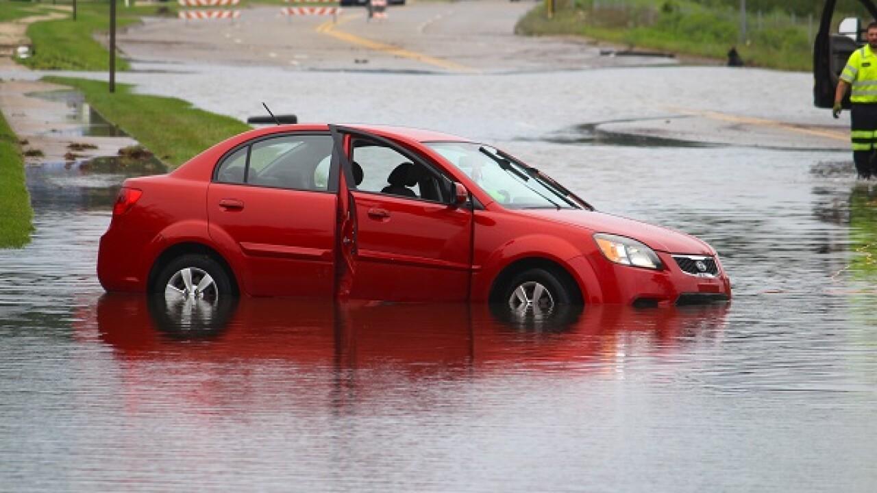 Flooding in Jackson