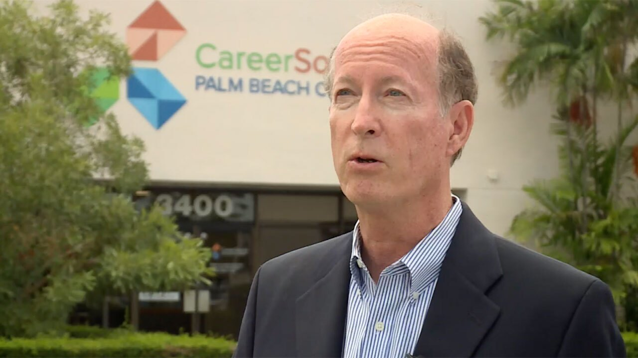Tom Veenstra, career expert at CareerSource of Palm Beach County